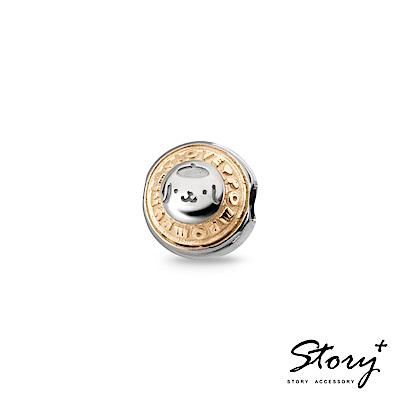 STORY故事銀飾-Purin串珠系列-我愛布丁狗雙色單墜