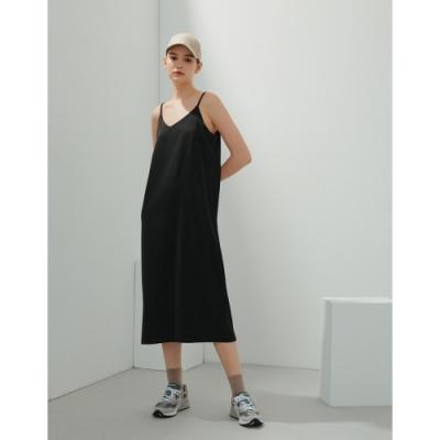 Shester55-絲滑細肩帶連衣裙(二色)-女【B2SH137】
