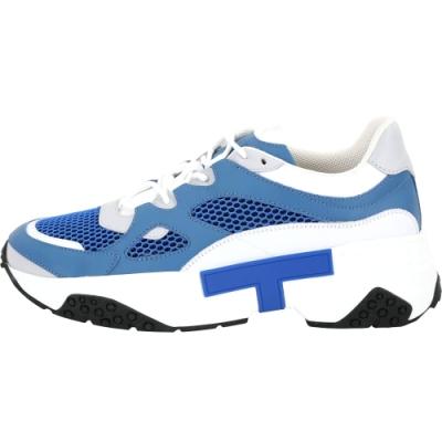 TOD'S 高科技網面料拼接老爹鞋(男款/藍色)