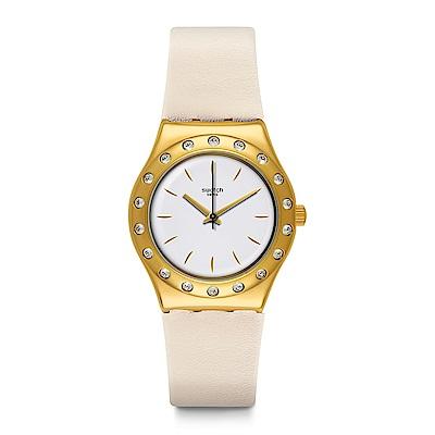Swatch LINUSA 晶亮焦點手錶