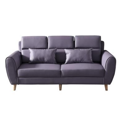 MUNA 3222型貓抓皮三人椅沙發(共三色) 195X83X82cm