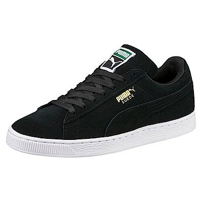 PUMA-SuedeClassic+復古籃球鞋-黑色