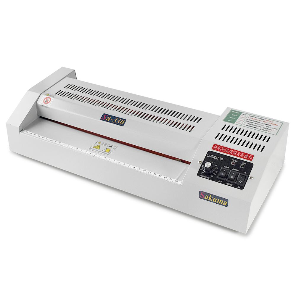 【護貝屋】 A3冷熱溫控專業型護貝機(控溫、冷裱、卡膠反轉鍵 、不規則文件護貝) 台灣製造