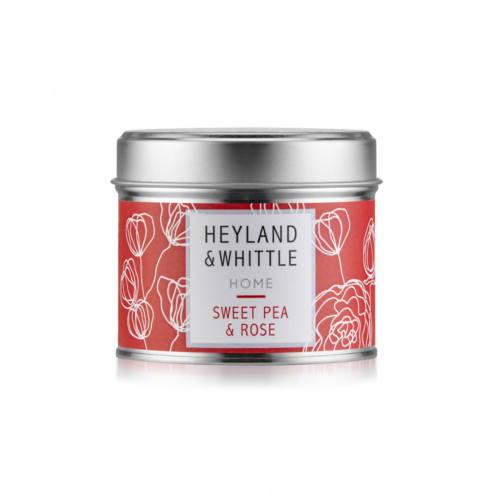 H&W英倫薇朵 玫瑰香豌豆香氛燭罐180g
