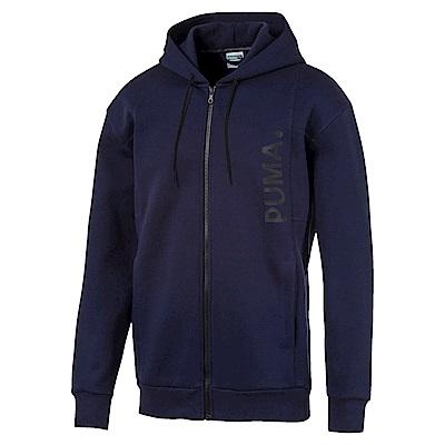 PUMA-男性流行系列Epoch連帽外套-重深藍-歐規