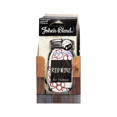 日本 John s Blend 香氛掛片 紅酒香 (每盒12片)