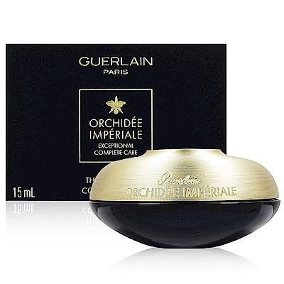 GUERLAIN嬌蘭 蘭鑽精奢氧生眼唇霜15ml 附隨機專櫃化妝包乙份