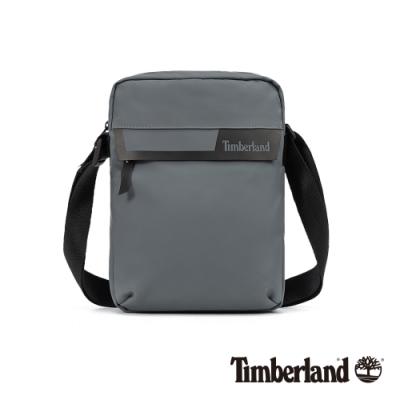 Timberland 中性灰色簡約防水斜背包|A1D1O