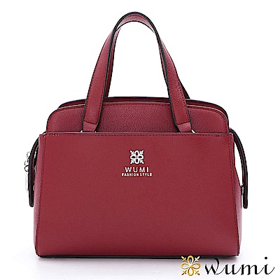 WuMi 無米 羅琳亞極簡手提包 玫瑰紅(快)