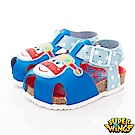 SUPER WINGS 護趾涼鞋款 NI3804藍(中小童段)