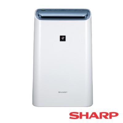 SHARP夏普 10.5L 1級自動除菌離子空氣除濕機 DW-H10FT-W