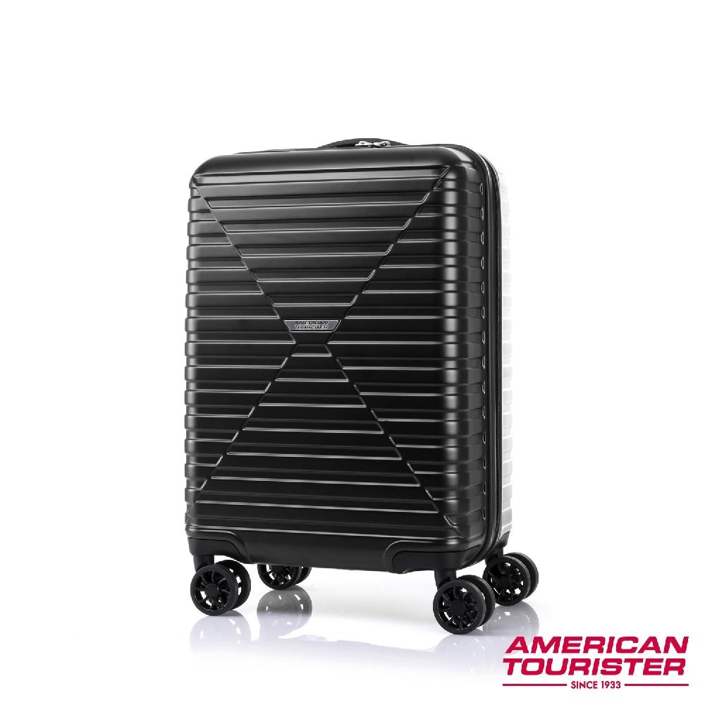 AT美國旅行者 20吋 Vardo 4:6開闔PC防盜拉鍊TSA登機箱(三色任選)