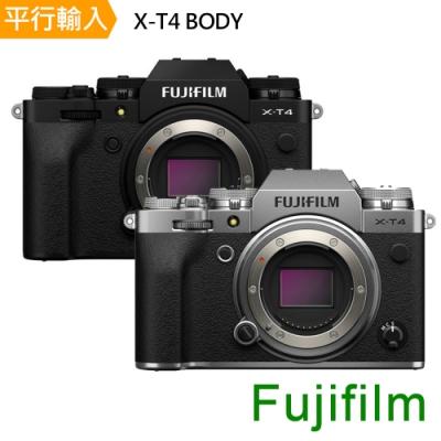 【快】FUJIFILM 富士 X-T4 BODY單機身 *(中文平輸)