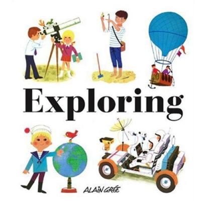 Exploring 驚奇探險 精裝繪本