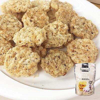 森之果物 泰國米香手造米餅-香蔥胡椒(80g)