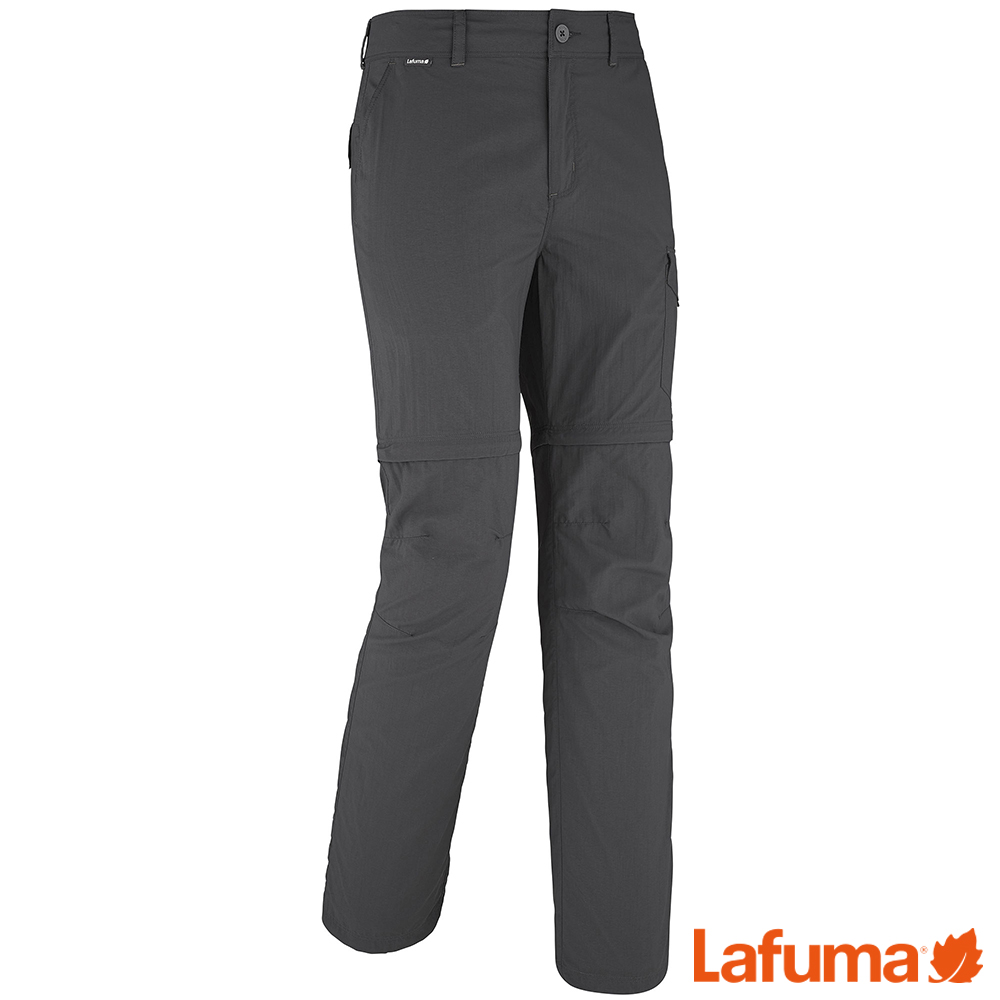 LAFUMA-男 抗UV 快排兩截式長褲-LFV113177523-黑