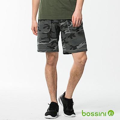 bossini男裝-休閒針織短褲03淺灰