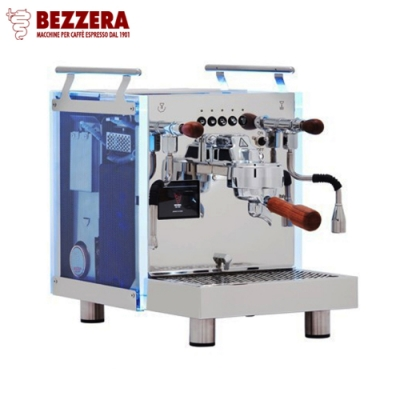 BEZZERA Duo DE 雙鍋半自動咖啡機 - 電控版 220V(HG1056)