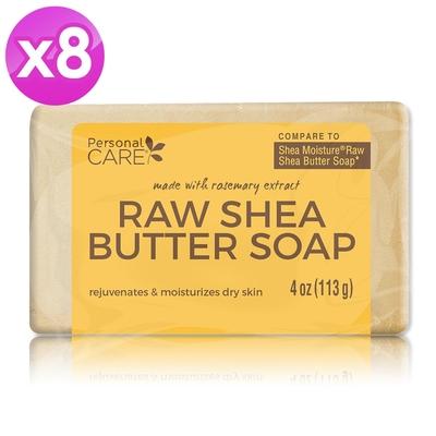 Personal Care 生乳木果油潤白美肌皂4oz/113g-超值8入