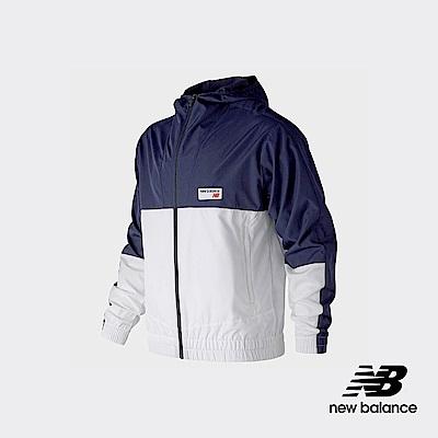 New Balance 連帽外套_AMJ91506PGM_男性_深藍