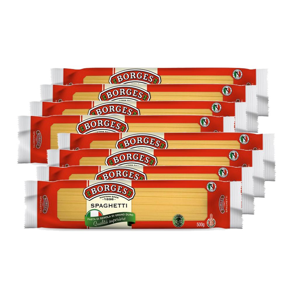 西班牙BORGES百格仕義大利麵直麵8入組(500g/包)