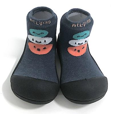 韓國Attipas 快樂學步鞋A19BN-黑底麻吉
