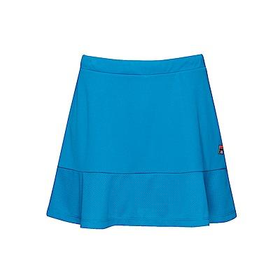 FILA 女款抗UV吸濕排汗短裙-藍綠 5SKT-1008-TQ