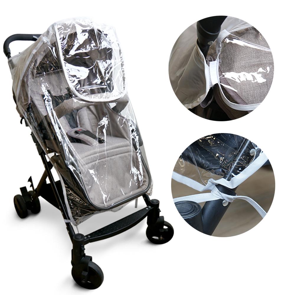 嬰兒推車透氣加厚加大防雨罩