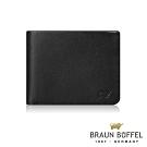 BRAUN BUFFEL - DELOS-R提洛斯R系列8卡皮夾 - 時尚黑