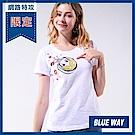 網路限定_箱子-BLUE WAY-遊玩太空娃短TEE