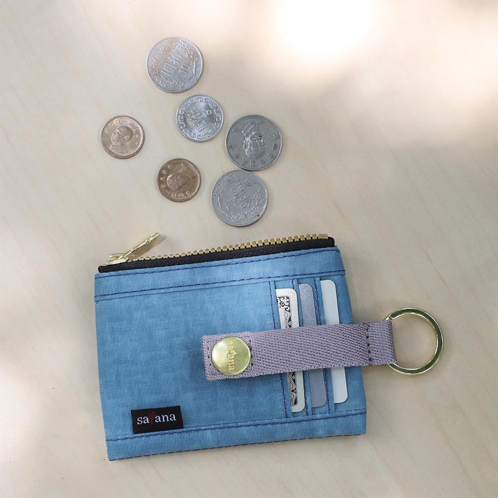 satana - Soldier 繽紛卡片夾/零錢包 - 煙灰藍