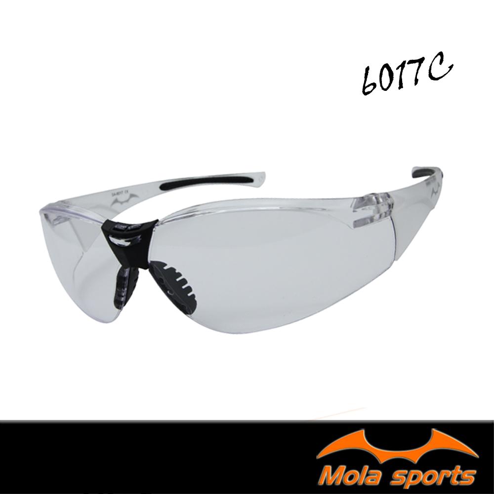 MOLA摩拉運動安全眼鏡護目鏡 透明鏡片 超輕量 男女可戴 6017c