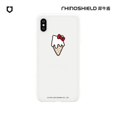 犀牛盾 iPhone SolidSuit防摔背蓋手機殼/Hello Kitty-融化你的心