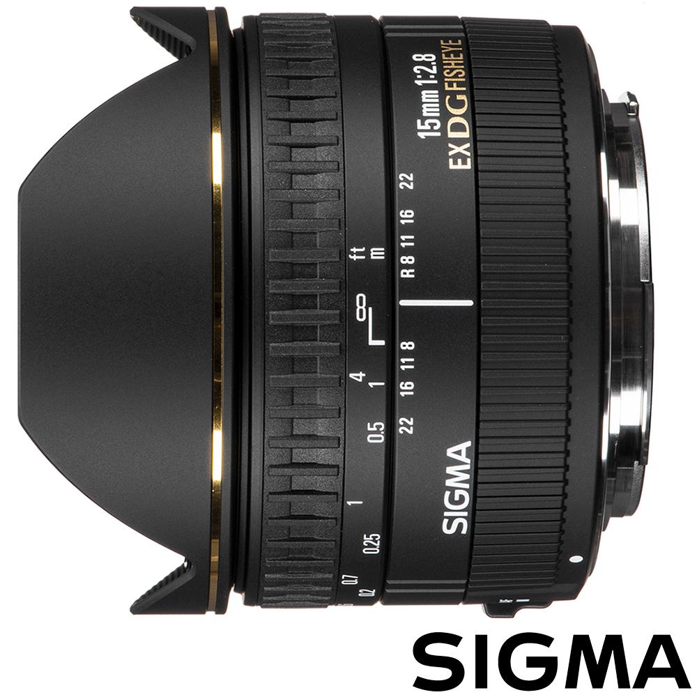 SIGMA 15mm F2.8 EX DG 魚眼鏡頭 (公司貨)