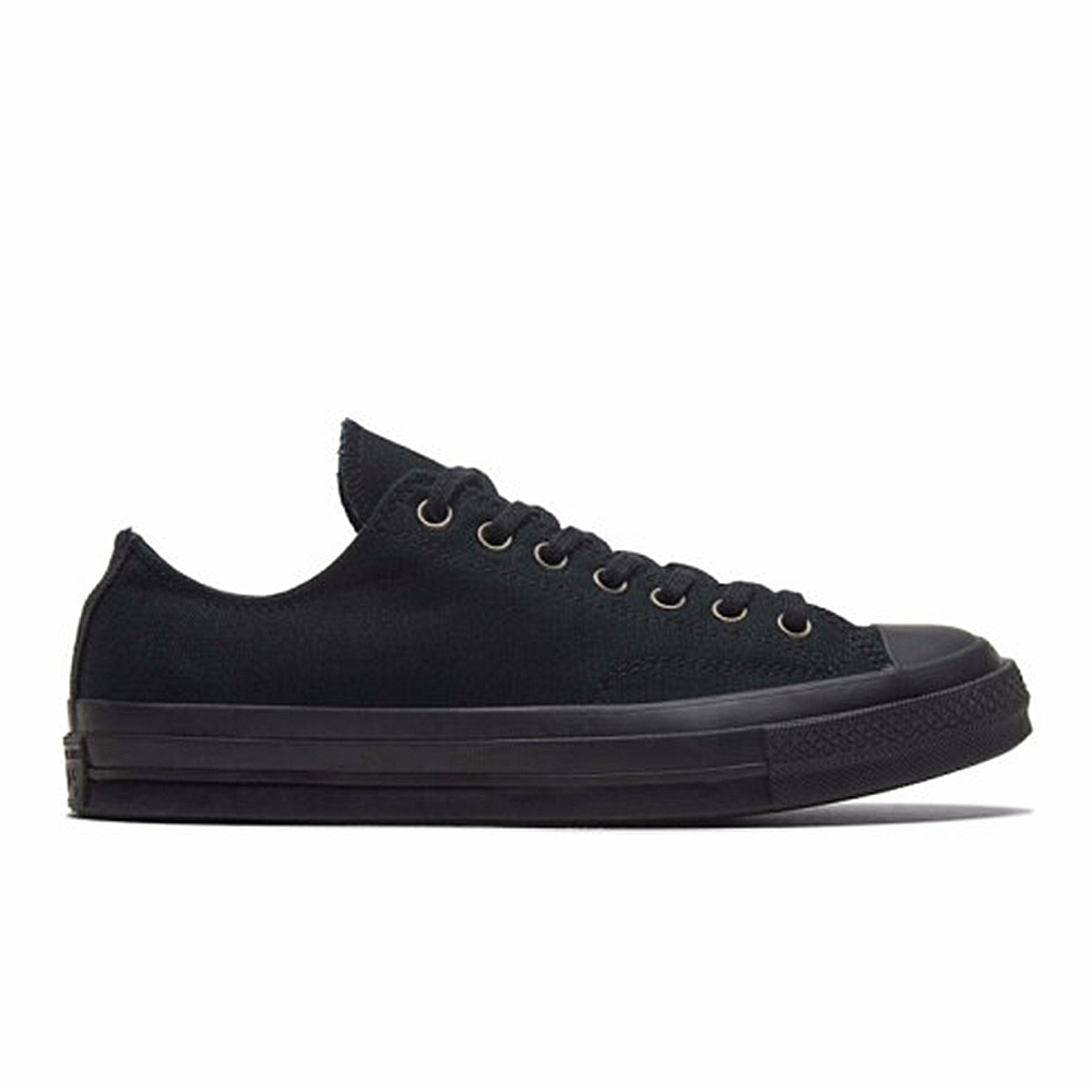 CONVERSE CHUCK 70 OX 低筒休閒鞋 男女 黑色 168929C