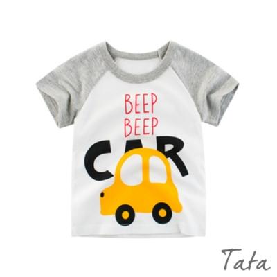 兒童 卡通車子印花上衣 TATA KIDS