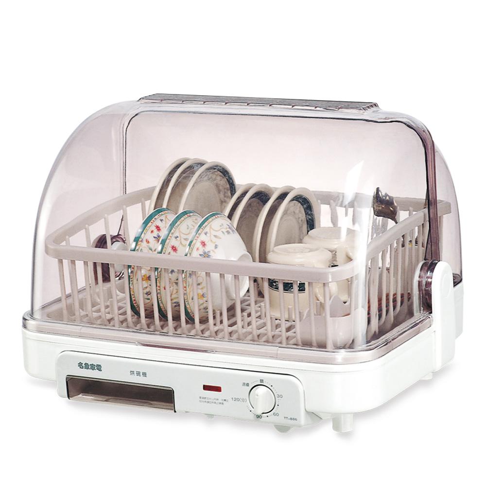 名象桌上型溫風乾燥烘碗機(約八人份) TT-886