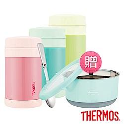 [買罐贈盒]THERMOS 膳魔師不鏽鋼真空食物燜燒罐0.47L