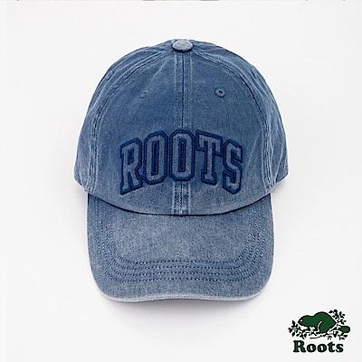 Roots配件- 史特拉斯棒球帽-藍