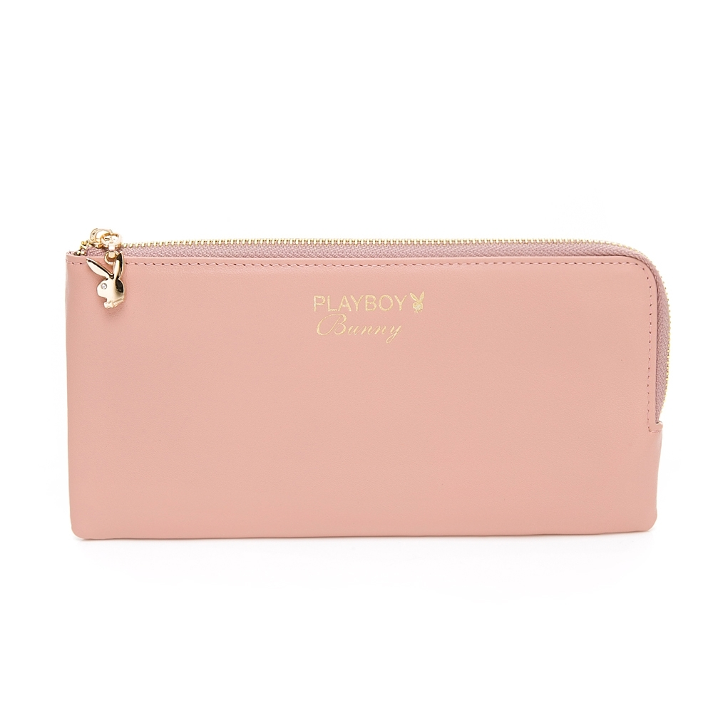 PLAYBOY-  長夾  ELEGANT LADY優雅女士系列 -粉紅色