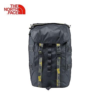 The North Face北面灰色戶外通用雙肩背包 3KUS03B