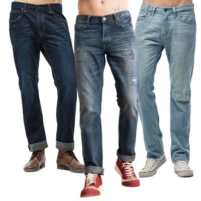 【時時樂限定】 LEE 男款精典牛仔褲-四款選