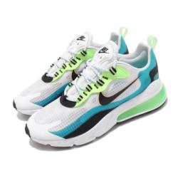 Nike 休閒鞋 Air Max 270 React 男鞋 氣墊 避震 舒適 簡約 球鞋 穿搭 綠 藍 CT1265300