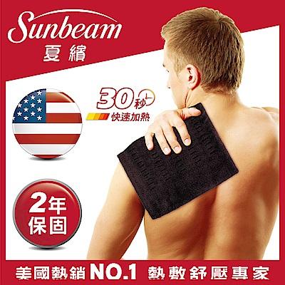 美國Sunbeam瞬熱保暖墊(核桃色)