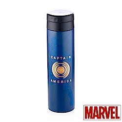 Marvel漫威 美國隊長#304不鏽鋼真空保溫學士杯480ml(快)