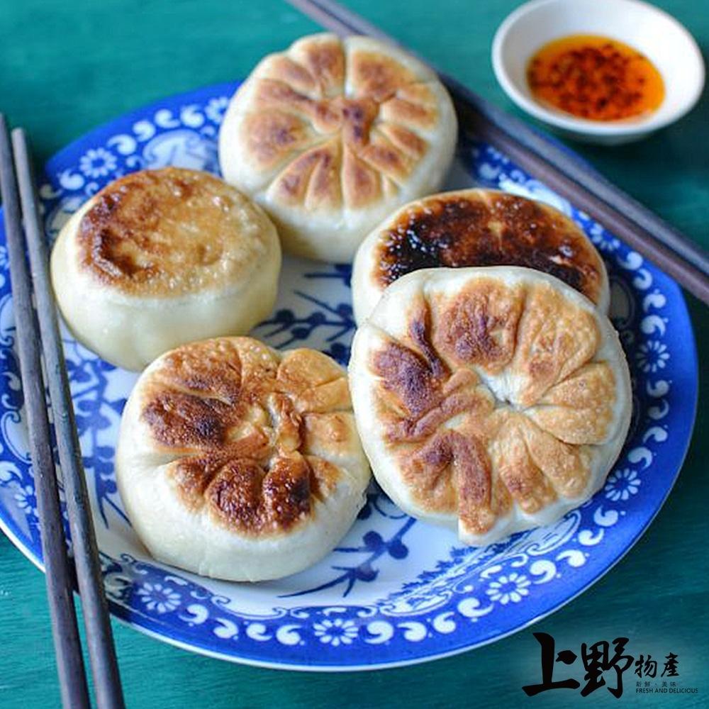 【上野物產】台灣製作 北京風味香煎餅(750g±10%/10粒/包)x3包