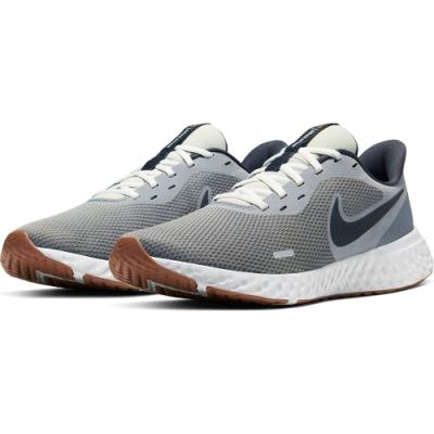 NIKE 慢跑鞋 男鞋 輕量 避震 路跑 運動鞋 灰 BQ3204008  REVOLUTION 5
