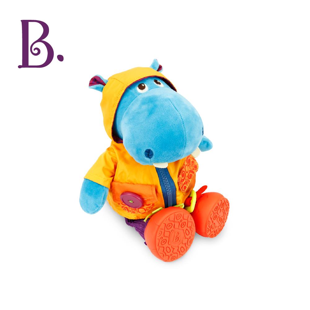 【 B.Toys】小河馬漢克(學習玩偶)