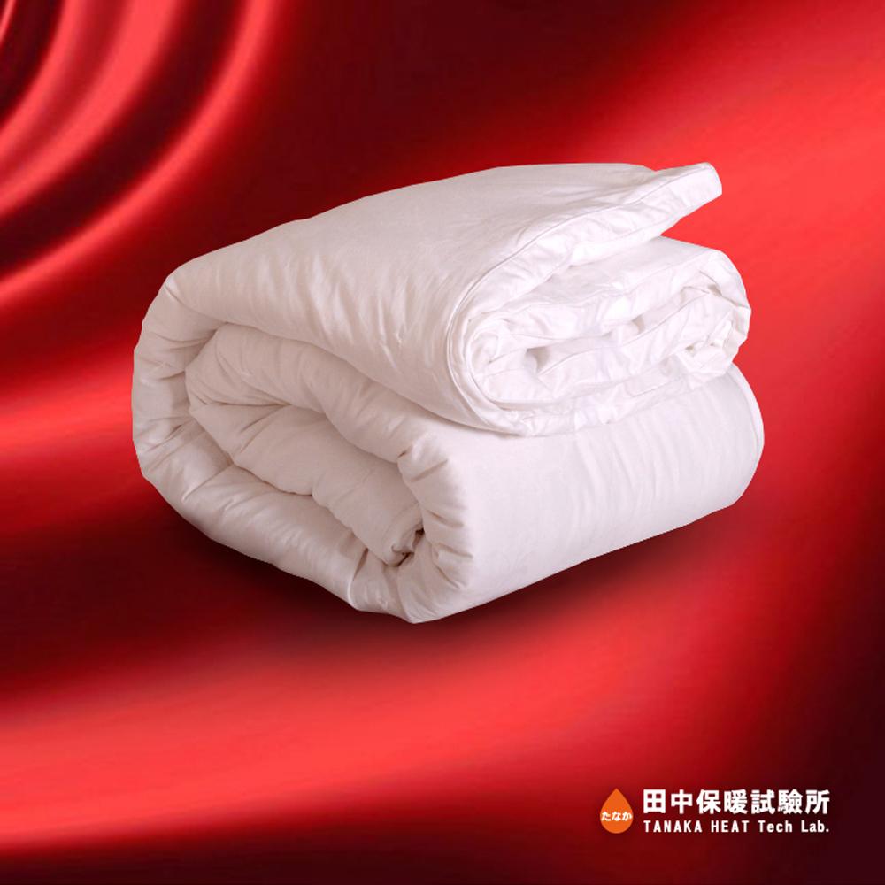 田中保暖試驗所 3.5Kg純手工長纖 頂級純蠶絲被 6x7尺 500織高密度表布冬季蠶絲