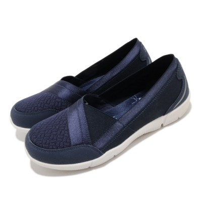 Skechers 休閒鞋 Be-Lux-Daylights 寬楦 女鞋 柔軟 吸震 套入式 記憶型泡棉鞋墊 藍 米 100026WNVY
